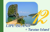 Lipe Island and Tarutao Island